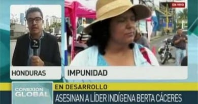 honduras periodista telesur
