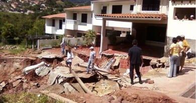 viviendas colapso tachira