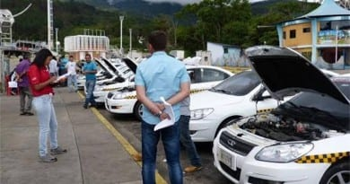 control taxis tachira