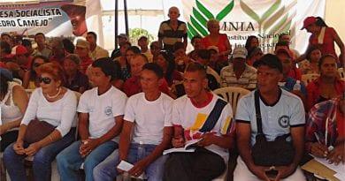Campesinos Tuvieron Su Congreso De La Patria En Lara