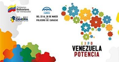 Inicia en Caracas este jueves la Expo Venezuela Potencia 2017