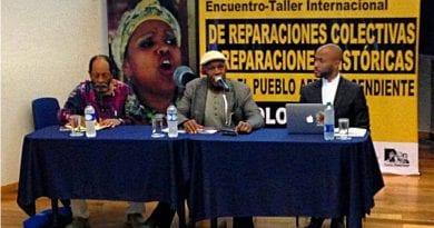 Glover Pidió Reparación Y Justicia Económica Para Afrocolombianos