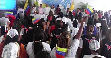 Instalado I Congreso Binacional de Mujeres en San Cristóbal