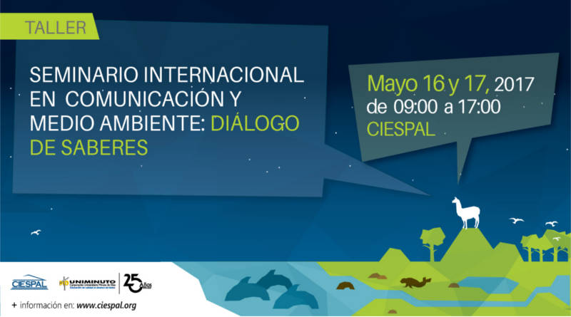 Promueven Seminario Internacional en Comunicación y Medio Ambiente