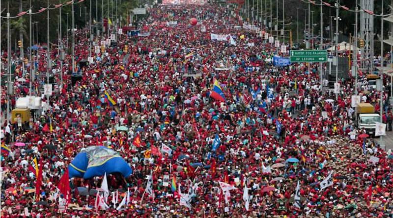 Pueblo bolivariano en la calle desmanteló nueva intentona golpista