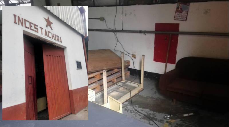 Atacan, dañan y roban en instalaciones del Inces Táchira
