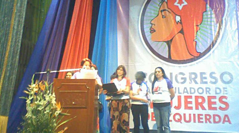 Mujeres de Izquierda realizaron su Congreso en Venezuela