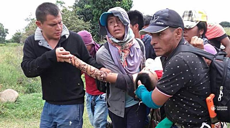 Ataque de la Policía en Cauca deja saldo de un comunero muerto