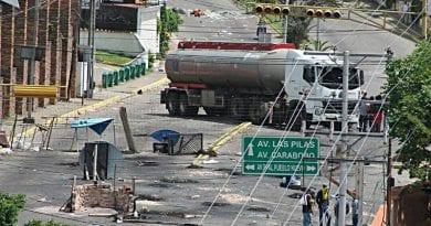 Rescatan cisterna de PDVSA retenida por terroristas este sábado