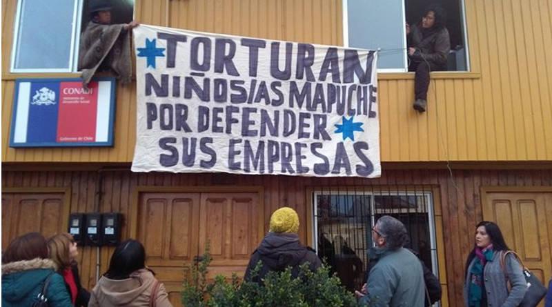 Toman centro del Conadi por violencia hacia niños mapuches
