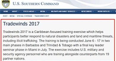 EE.UU. inicia ejercicios militares frente a costas venezolanas