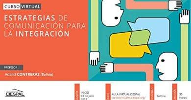 Abiertas inscripciones para curso virtual de Ciespal y Fcina
