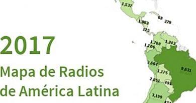 Blog de América presentará Mapa de Radios en América Latina