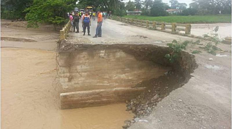 Emergencia en 10 municipios del Táchira tras intensas lluvias