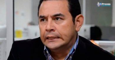 Corte Suprema rechaza solicitud de antejuicio a Jimmy Morales