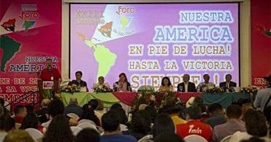 Foro de Sao Paulo respalda convocatoria a ANC en Venezuela